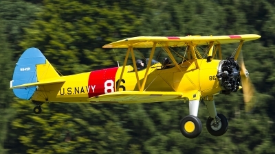 Photo ID 163016 by Thomas Ziegler - Aviation-Media. Private Private Boeing Stearman B75N1, N849M