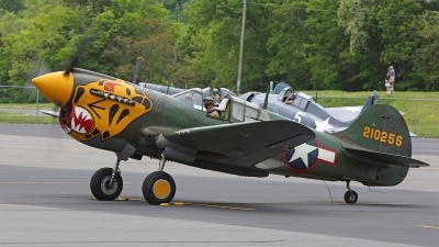 Photo ID 158615 by David F. Brown. Private Private Curtiss P 40K Warhawk, N410WH