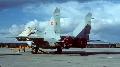 Photo ID 158719 by Carl Brent. Russia Air Force Mikoyan Gurevich MiG 29A 9 12A, 10 WHITE