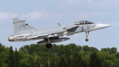 Photo ID 158785 by Ales Hottmar. Sweden Air Force Saab JAS 39C Gripen, 39278