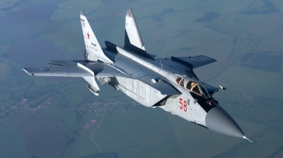 Photo ID 158938 by Sergey Kuzmishkins. Russia Air Force Mikoyan Gurevich MiG 31DZ, RF 95200