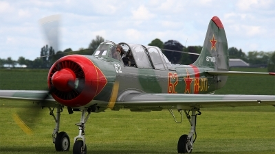 Photo ID 159304 by Jan Eenling. Private Dutch Thunder Yaks Yakovlev Yak 52, PH DTX