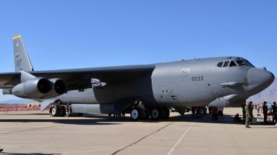 Photo ID 159265 by Jonathan Navarro. USA Air Force Boeing B 52H Stratofortress, 60 0033