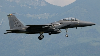 Photo ID 159373 by Giampaolo Tonello. USA Air Force McDonnell Douglas F 15E Strike Eagle, 91 0318
