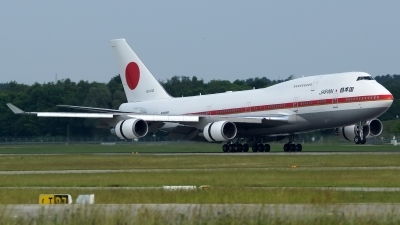Photo ID 159377 by Lukas Kinneswenger. Japan Air Force Boeing 747 47C, 20 1102