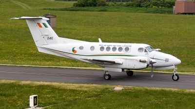 Photo ID 159444 by Jan Eenling. Ireland Air Force Beech Super King Air B200, 240