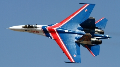 Photo ID 160601 by Agata Maria Weksej. Russia Air Force Sukhoi Su 27S, 08 BLUE
