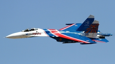 Photo ID 160600 by Agata Maria Weksej. Russia Air Force Sukhoi Su 27S, 08 BLUE