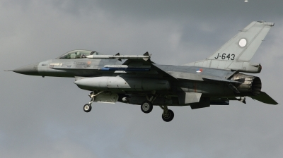 Photo ID 159452 by Arie van Groen. Netherlands Air Force General Dynamics F 16AM Fighting Falcon, J 643
