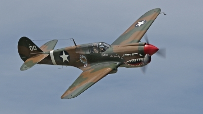 Photo ID 159557 by David F. Brown. Private American Airpower Heritage Flying Museum Curtiss P 40M Warhawk, NX1232N