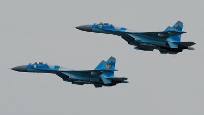 Photo ID 159640 by Alex van Noye. Kazakhstan Air Force Sukhoi Su 27M2,
