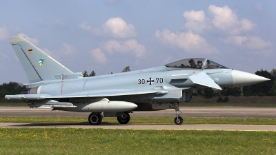 Photo ID 159741 by Thomas Ziegler - Aviation-Media. Germany Air Force Eurofighter EF 2000 Typhoon S, 30 70