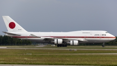 Photo ID 159768 by Thomas Ziegler - Aviation-Media. Japan Air Force Boeing 747 47C, 20 1102