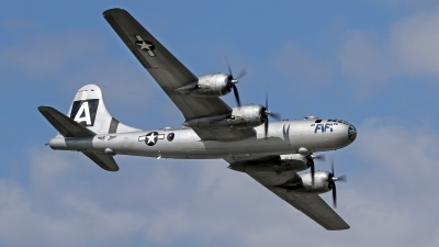 Photo ID 159765 by David F. Brown. Private Commemorative Air Force Boeing B 29A Superfortress, NX529B