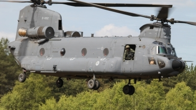 Photo ID 159805 by Rick van Engelen. Netherlands Air Force Boeing Vertol CH 47F Chinook, D 892