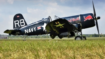 Photo ID 160353 by Paolo Grasso. Private Red Bull Vought F4U 4 Corsair, OE EAS