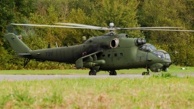 Photo ID 159852 by Alex van Noye. Poland Army Mil Mi 24V, 739