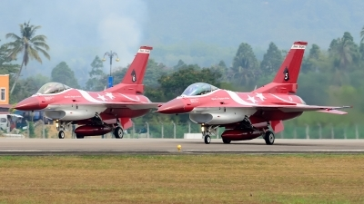 Photo ID 160101 by Teerawut Wongdee. Singapore Air Force General Dynamics F 16C Fighting Falcon, 610