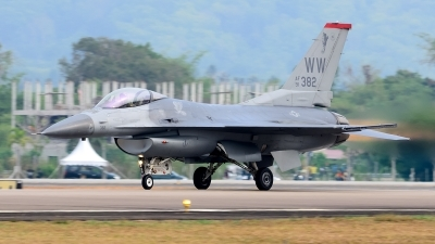 Photo ID 160090 by Teerawut Wongdee. USA Air Force General Dynamics F 16C Fighting Falcon, 91 0382