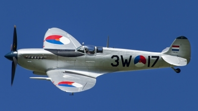 Photo ID 160104 by Thomas Ziegler - Aviation-Media. Private Stichting Koninklijke Luchtmacht Historische Vlucht Supermarine 361 Spitfire Mk9, G HVDM