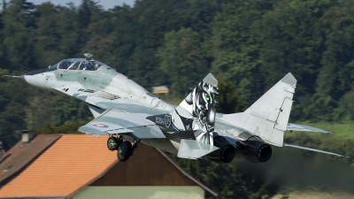 Photo ID 160113 by Thomas Ziegler - Aviation-Media. Slovakia Air Force Mikoyan Gurevich MiG 29UBS 9 51, 5304