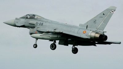 Photo ID 160208 by Arie van Groen. Spain Air Force Eurofighter C 16 Typhoon EF 2000S, C 16 28
