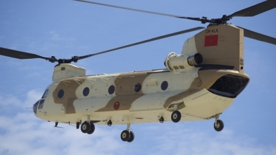 Photo ID 160299 by Gerald Howard. Morocco Air Force Boeing Vertol CH 47D Chinook, CN ALK