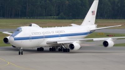 Photo ID 160289 by Günther Feniuk. USA Air Force Boeing E 4B 747 200B, 73 1677