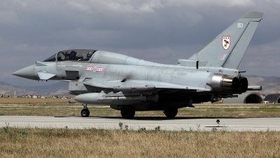 Photo ID 160375 by Carl Brent. UK Air Force Eurofighter Typhoon T3, ZJ805
