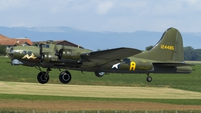Photo ID 160576 by Thomas Ziegler - Aviation-Media. Private B 17 Preservation Ltd Boeing B 17G Flying Fortress 299P, G BEDF