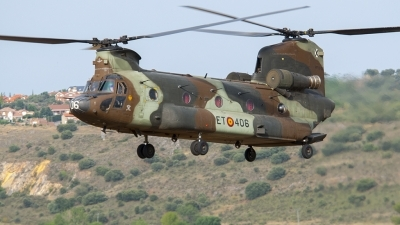 Photo ID 160577 by Alfonso S.. Spain Army Boeing Vertol CH 47D Chinook, HT 17 06
