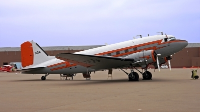 Photo ID 160775 by Johannes Berger. USA Federal Aviation Administration Douglas DC 3C, N34
