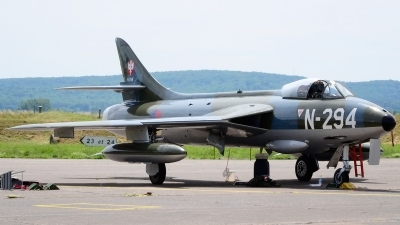 Photo ID 160764 by Sven Zimmermann. Private DHHF Dutch Hawker Hunter Foundation Hawker Hunter F6A, G KAXF