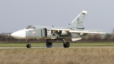 Photo ID 160840 by Chris Lofting. Ukraine Air Force Sukhoi Su 24M, 22 WHITE