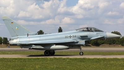 Photo ID 160892 by Thomas Ziegler - Aviation-Media. Germany Air Force Eurofighter EF 2000 Typhoon S, 30 58