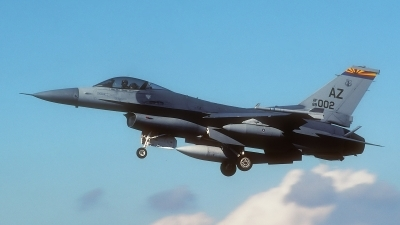 Photo ID 160975 by Rainer Mueller. USA Air Force General Dynamics F 16C Fighting Falcon, 89 2002