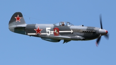 Photo ID 160993 by Ales Hottmar. Private Private Yakovlev Yak 3U, D FYGJ