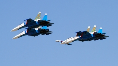 Photo ID 163046 by Agata Maria Weksej. Russia Air Force Sukhoi Su 27S, 12 BLUE