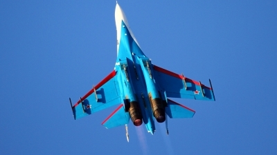 Photo ID 161232 by Agata Maria Weksej. Russia Air Force Sukhoi Su 27S, 08 BLUE