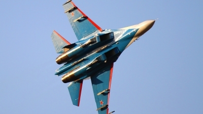 Photo ID 161231 by Agata Maria Weksej. Russia Air Force Sukhoi Su 27S, 08 BLUE
