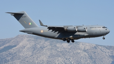 Photo ID 161274 by Alex D. Maras. India Air Force Boeing C 17A Globemaster III, CB8008