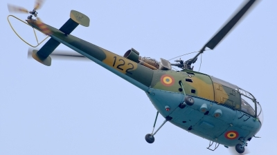 Photo ID 161320 by Alexandru Chirila. Romania Air Force IAR 316B Alouette III, 122