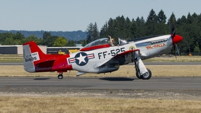 Photo ID 161382 by Aaron C. Rhodes. Private Heritage Flight Museum North American P 51D Mustang, N151AF