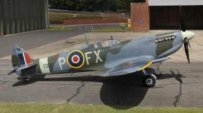 Photo ID 161336 by rinze de vries. Private Private Supermarine 361 Spitfire HF9e, G CGYJ
