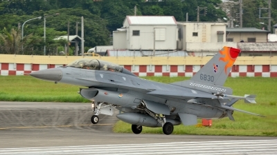 Photo ID 161332 by HOLY. Taiwan Air Force General Dynamics F 16B Fighting Falcon, 6830