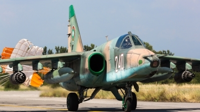 Photo ID 161339 by Andreas Zeitler - Flying-Wings. Bulgaria Air Force Sukhoi Su 25K, 240