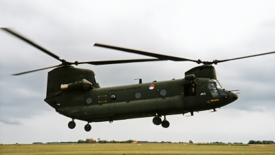 Photo ID 161530 by Johannes Berger. Netherlands Air Force Boeing Vertol CH 47D Chinook, D 662