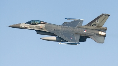 Photo ID 20013 by Alex van Noye. Netherlands Air Force General Dynamics F 16AM Fighting Falcon, J 201