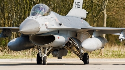 Photo ID 20014 by Alex van Noye. Netherlands Air Force General Dynamics F 16AM Fighting Falcon, J 362