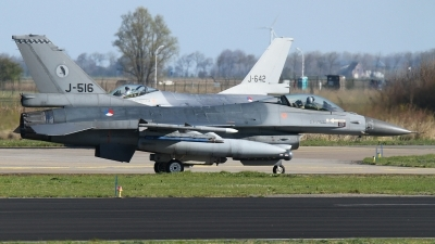 Photo ID 161698 by Rainer Mueller. Netherlands Air Force General Dynamics F 16AM Fighting Falcon, J 516